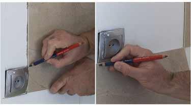 7. Instalar placas de vinilo para paredes