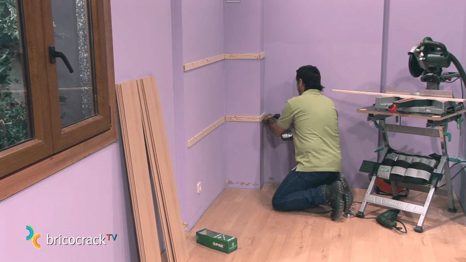 Aprende a instalar tarima de suelo o piso laminado en clik 1 - Montaje suelo laminado ...
