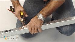 estructura tabiques yeso _ cortar chapa