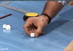 Poner soportes invisibles en las baldas