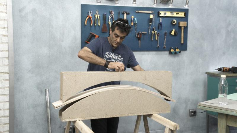vitrina miniaturas _ curvar madera