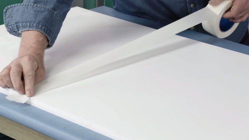 imitar pared mármol _ proteger cinta carrocero