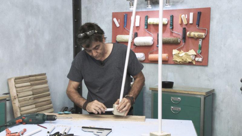 construir agility _ ensamblar palos slalom