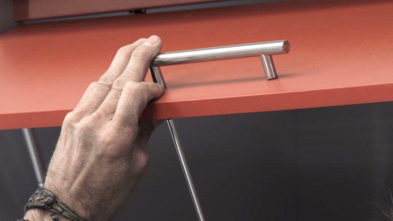 crear rincón trabajo _ colocar tirador