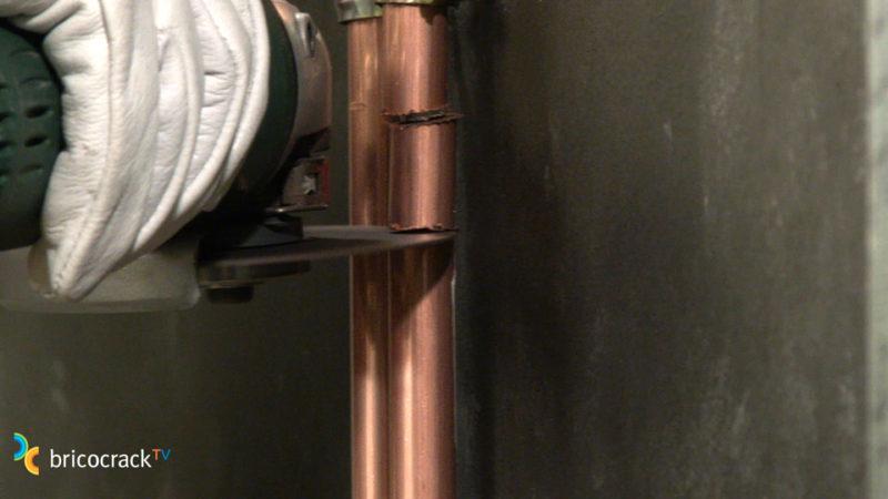 baño multicapa _ cortar tubo