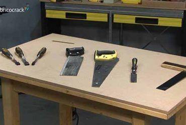 Elegir herramientas manuales para cortar madera
