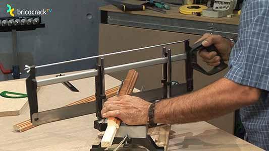 Guía didactica para herramientas de corte manual 13 (Bricocrack) Serrucho de costilla
