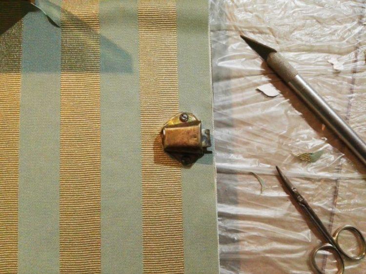 papel pintado sobre formica _ usar cutter