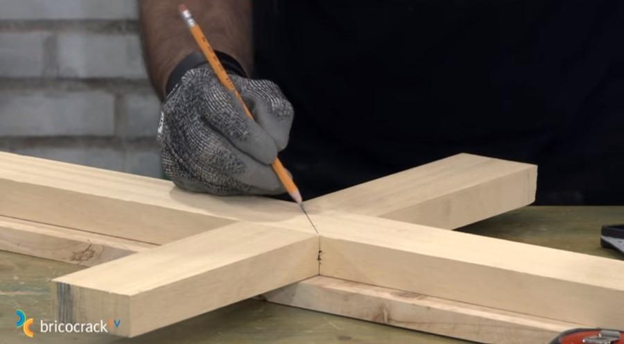 estructura mesa ruedas _ reforzar ensamble a media madera