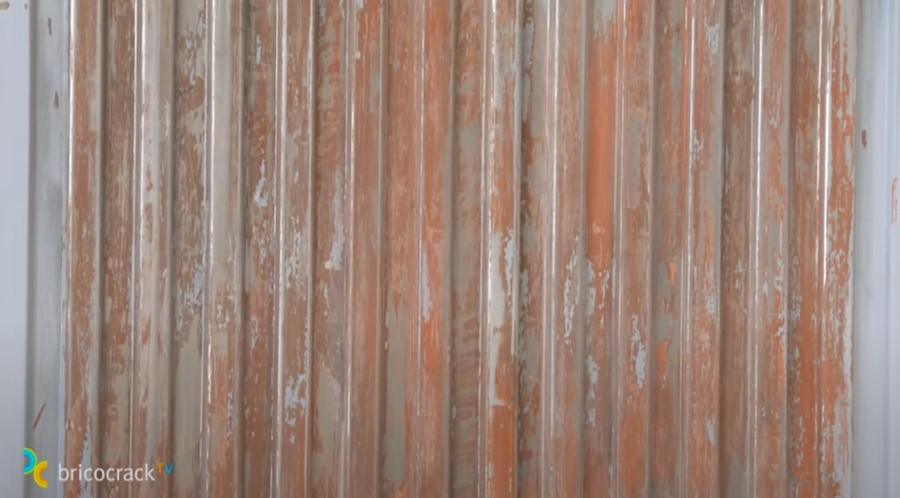 pintar puerta jardín _ puerta oxidada