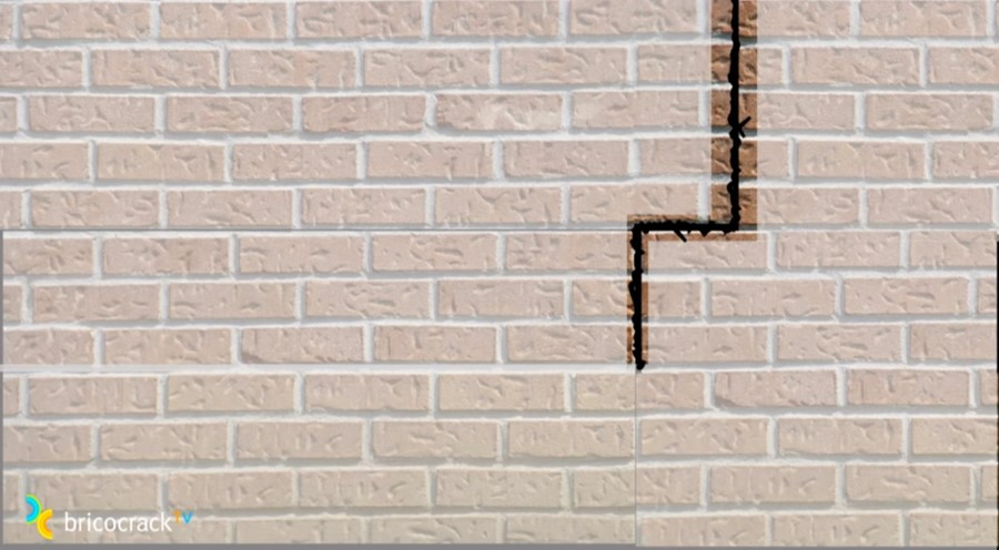 reparar grietas y fisuras _ diagrama grieta