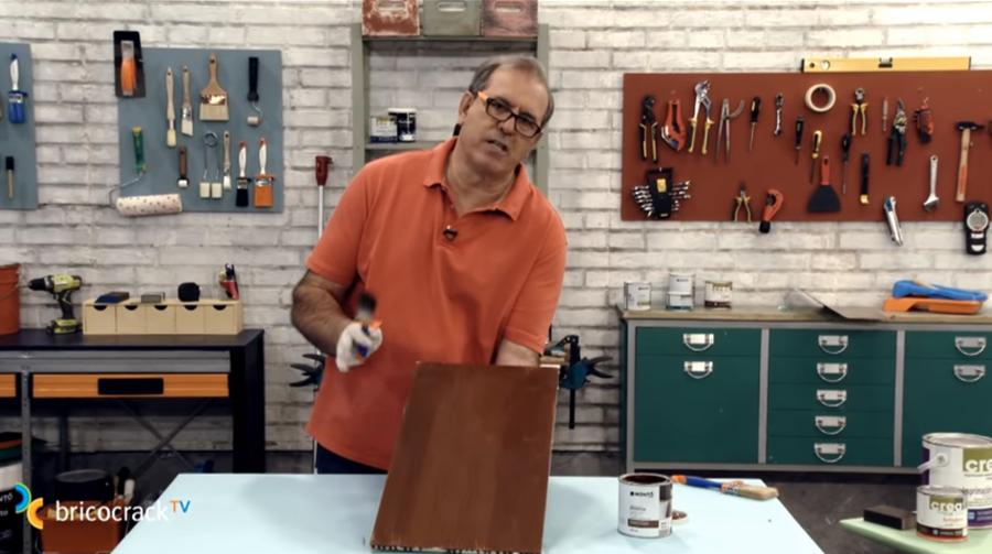 pintar muebles cocina _ efecto madera