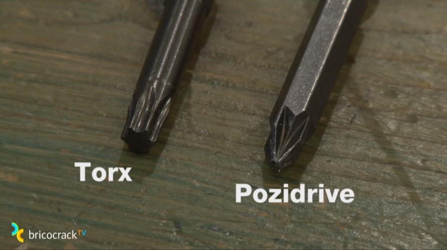 atornillar madera _ torx y pozidrive