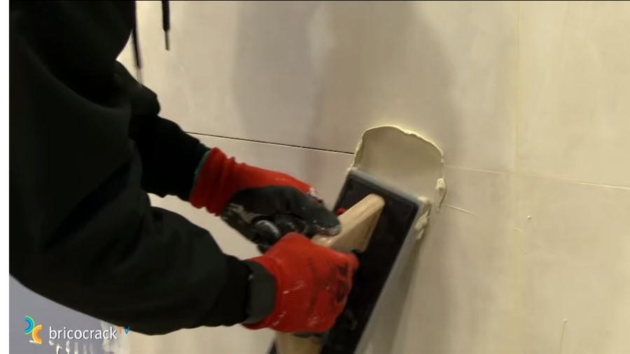 mortero baldosas rectificadas _ mortero residual