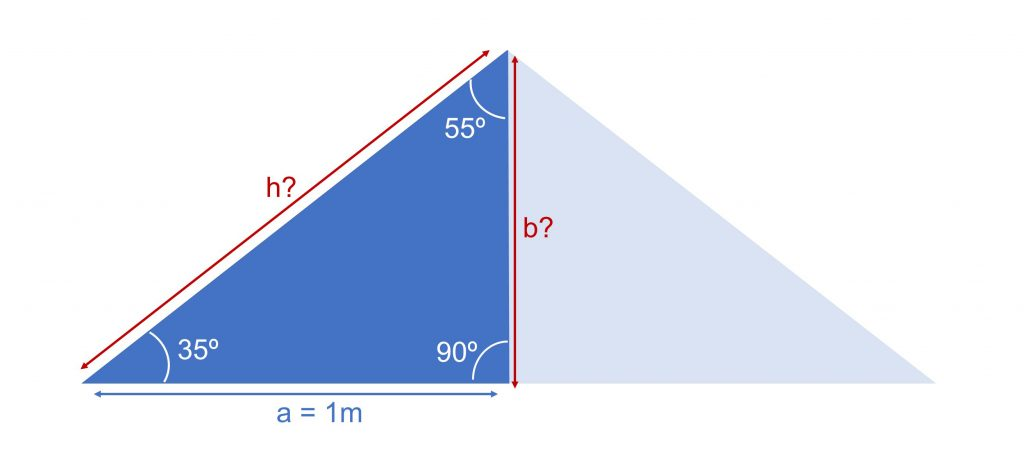 calcular ángulos construir _  medidas triángulo