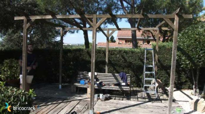 tornillos para grandes estructuras de madera