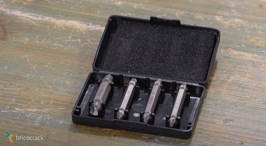 tornillos cabeza dañada _ usar extractor tornillos