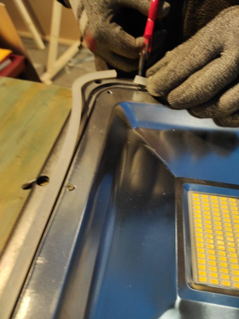 arreglar led _ montaje protector plástico
