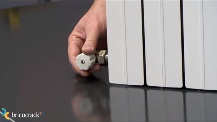 mantenimiento radiadores _ llave entrada