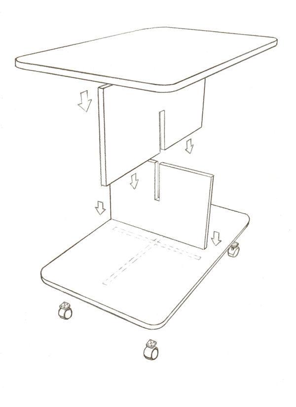 mesa baja _ esquema