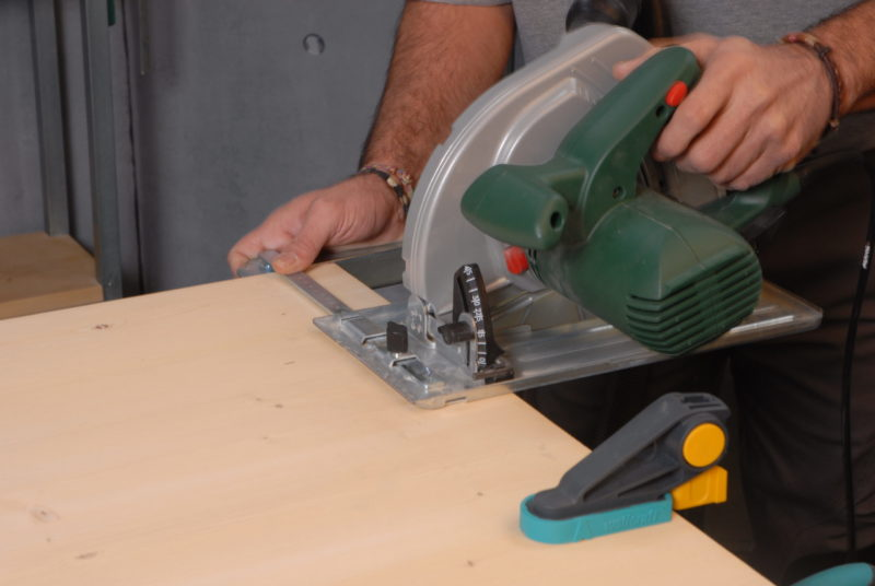 mesa baja _ cortar madera