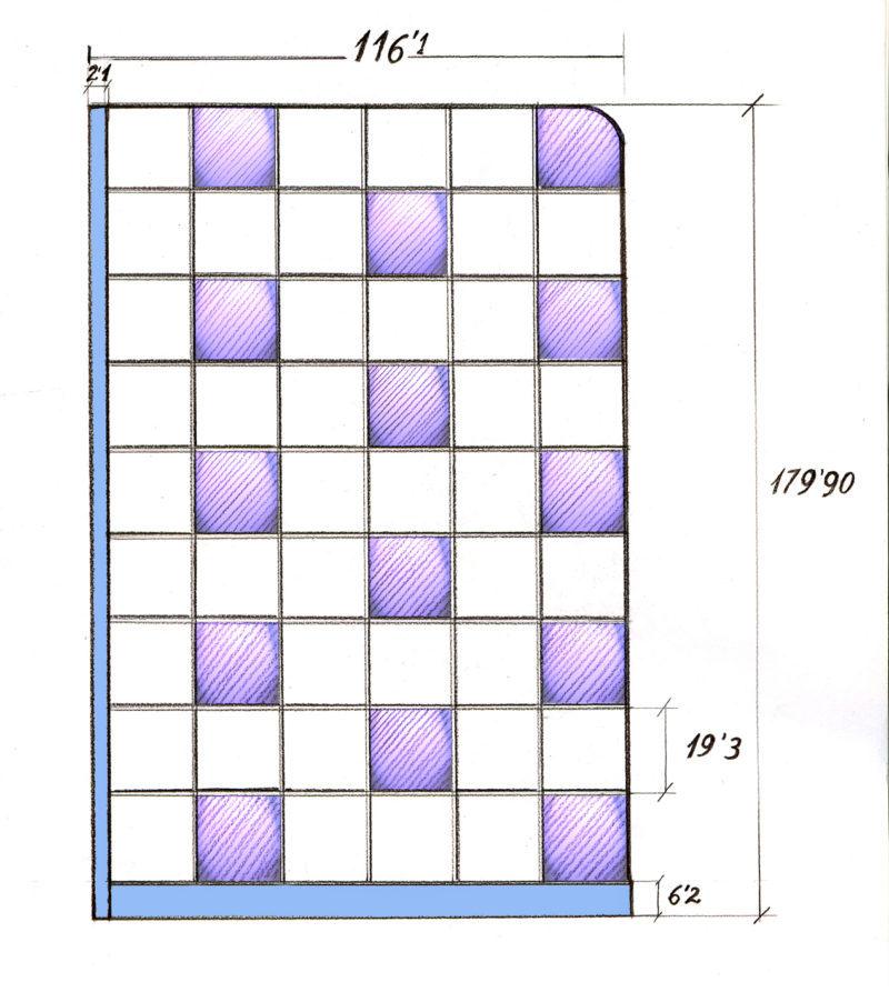 bloques de vidrio _ como calcularlos