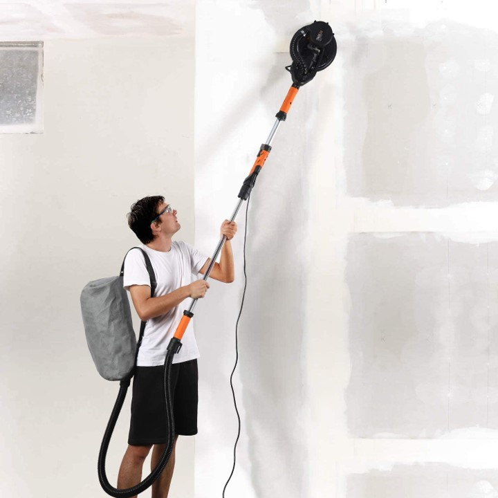 herramientas pintura paredes techos _lijadora jirafa